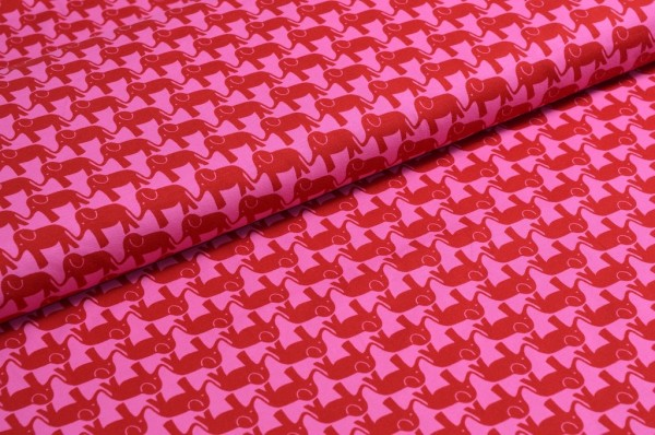 ELEPHANT PARADE Jersey rot auf pink by jolijou