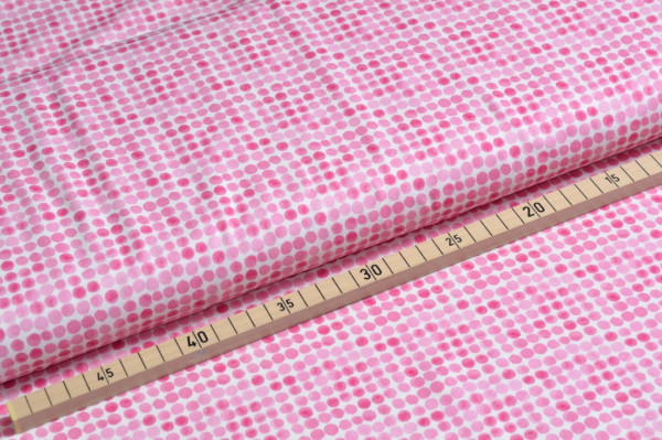 MINI SUMMER Jersey Punkte pink