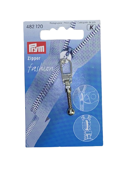 Fashion-Zipper Keulen silberfarbig Prym