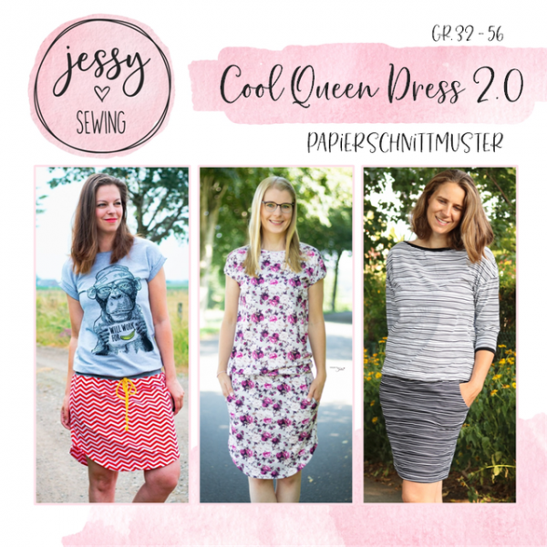 Cool Queen Dress 2.0 Papierschnittmuster