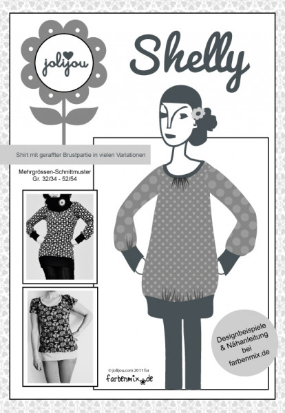 Shelly Sweater Papierschnittmuster jolijou