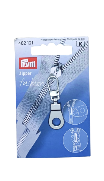 Fashion-Zipper Öse silberfarbig Prym